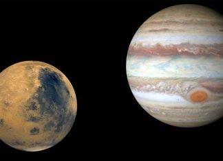 Jüpiter'deki şimşekler